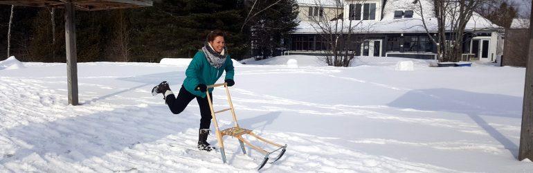 Découvrez la Trottinette des neiges