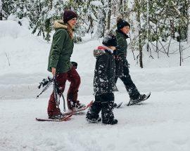 Jouvence raquette hiver