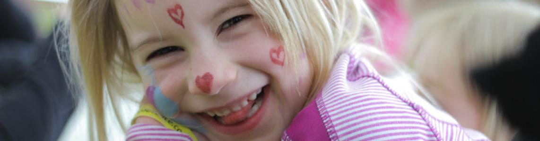 Jouvence enfant sourire
